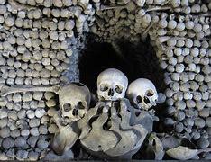 Résultat d'images pour l'ossuaire de sedlec images