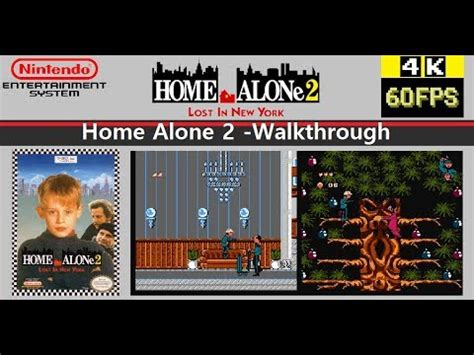 NES HOME ALONE LOST IN NEW YORK ホーム アローン WALKTHROUGH