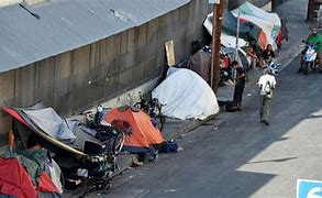 Image result for tent cities in Loa Angeles