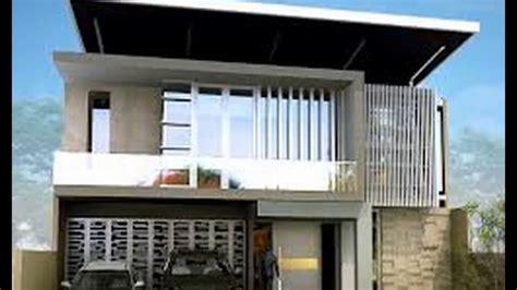 desain rumah minimalis dengan atap datar youtube