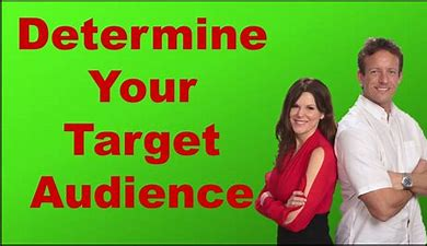 Image result for Determine your audience