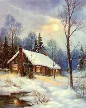 Image result for Vintage Winter House Clip Art