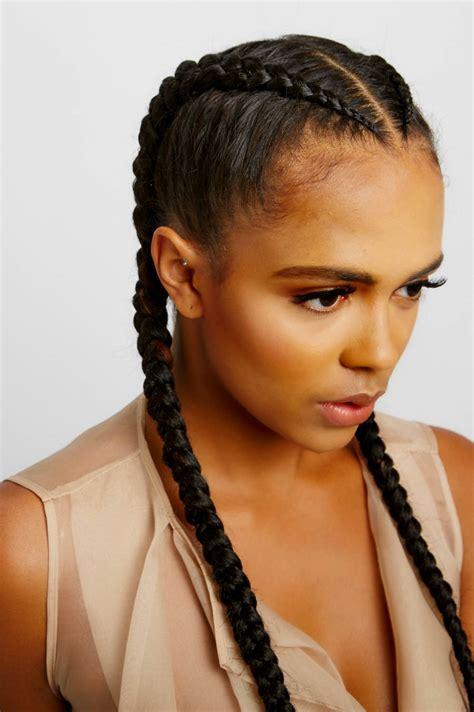 cornrows with added hair braids yeluchi by un ruly