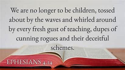 Image result for ephesians 4:14