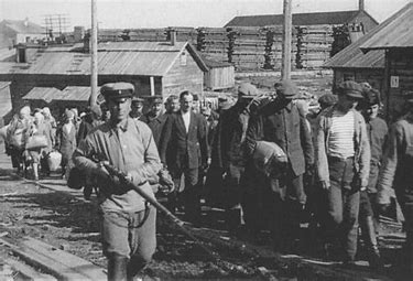 Image result for images russian gulag