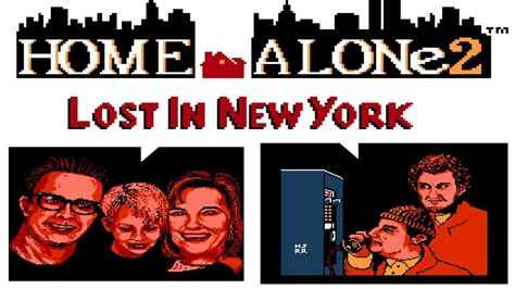 HOME ALONE LOST IN NEW YORK 小鬼当家 LONGPLAY FC NES GAME