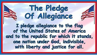 Image result for free pics pledge of aledience
