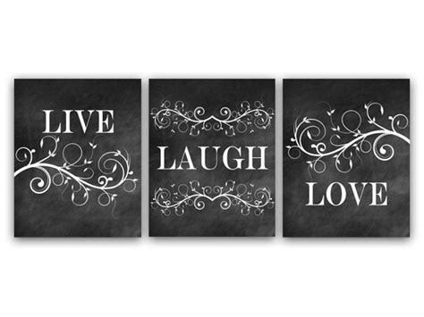 home decor wall art live laugh love art chalkboard wall art