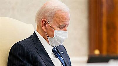 Image result for images tired biden wearing mask