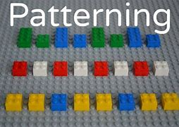 Image result for pattern using lego