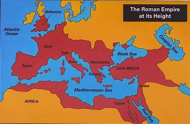 Image result for images map roman empire at its height