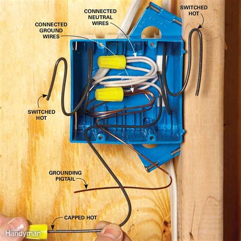 tips for easier home electrical wiring the family handyman