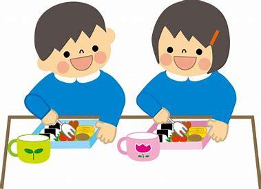イラスト無料 幼稚園児 食事 に対する画像結果