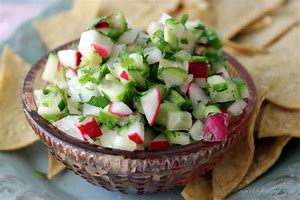 Image result for images of radish salsa