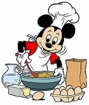 Image result for Mickey Mouse Clip Art Cooking