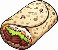 Image result for burrito picture art