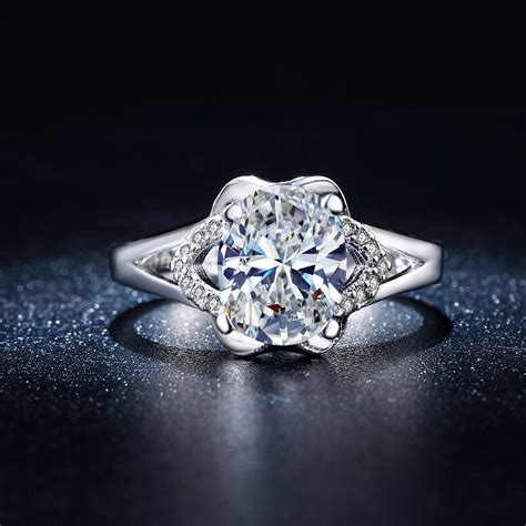 unique flowers design infinity rings women wedding jewelry