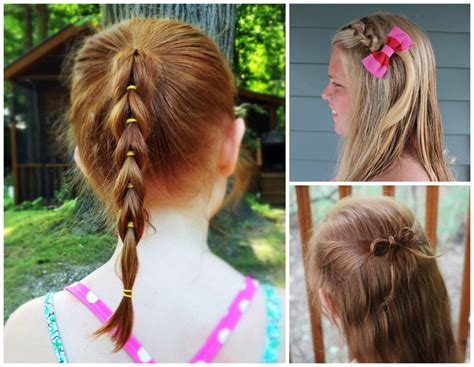 EASY HAIRSTYLES FOR GIRLS THAT ARE PERFECT FOR BACK TO