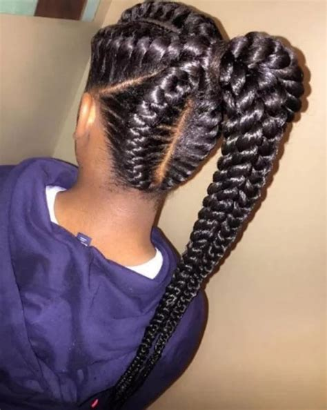 TOP AFRICAN BRAIDING HAIRSTYLES FOR LADIES PHOTOS