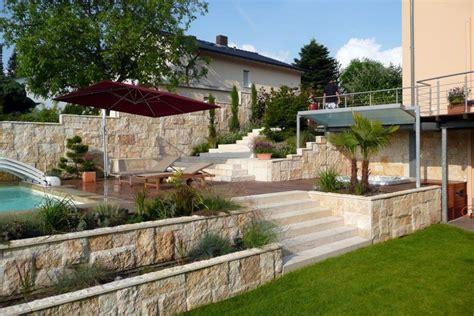 bildergebnis für pool in hanglage garten und terrasse