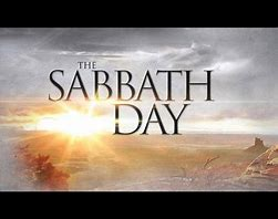 Image result for sabbath commandment