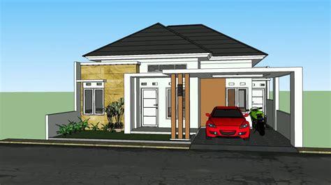 rumah minimalis luas tanah x dengan kamar tidur