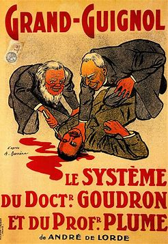 Image result for images grand guignol