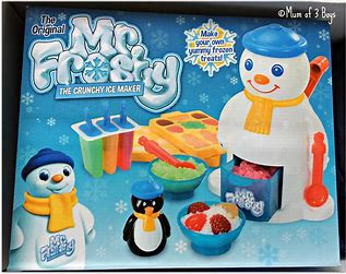 Mr. Frosty Ice Maker, the best gift