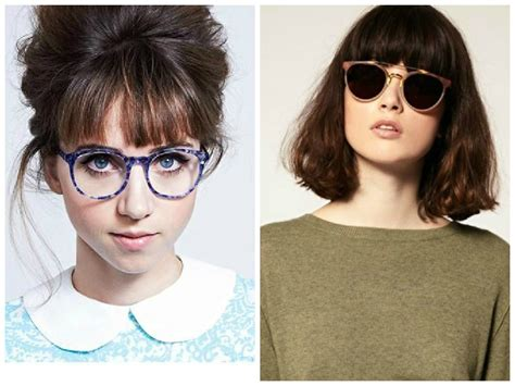 bangs and glasses hairstyle ideas hair world magazine