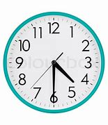 Image result for Half Past 4 Clock