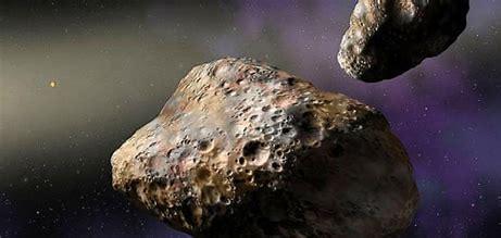 Resultado de imagen de Asteroides que colisiona