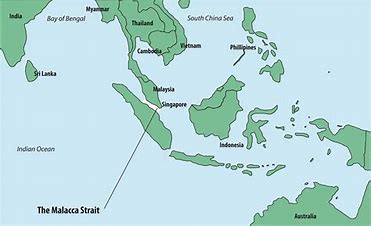 Image result for strait of malacca map free wallpaper