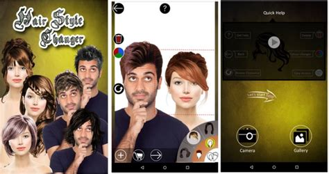 best hairstyle apps for men and women to try new hair