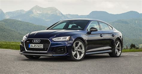 audi rs sportback first drive review performance