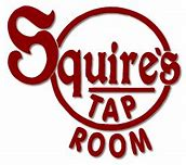 Image result for squires tap room logo