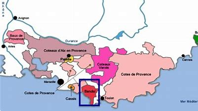 Image result for bandol map