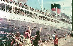 Image result for southampton emigrant boat departs, images