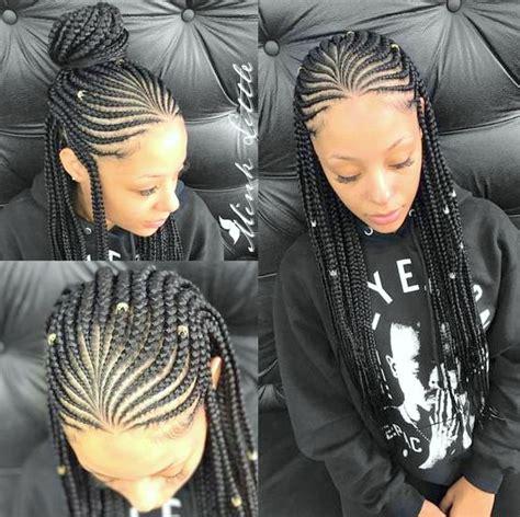 AMAZING BRAIDED HAIRSTYLES FOR BLACK WOMEN