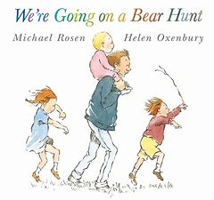 Image result for going on a bear hunt book