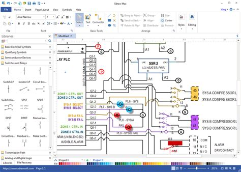wiring diagram software draw wiring diagrams with built