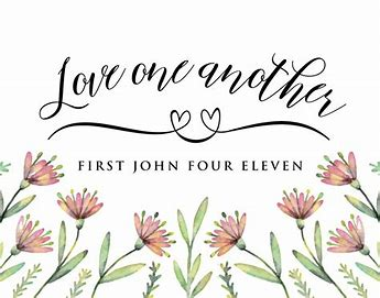 Image result for love one another bible verse