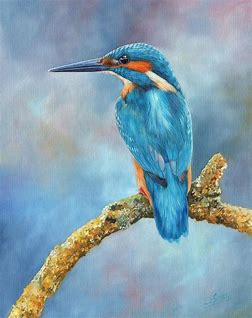 Image result for famous artists who painted a Kingfisher