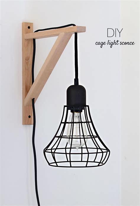 nalle s house diy cage light sconces