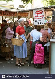 Image result for danish queen goes shopping in the markets photo