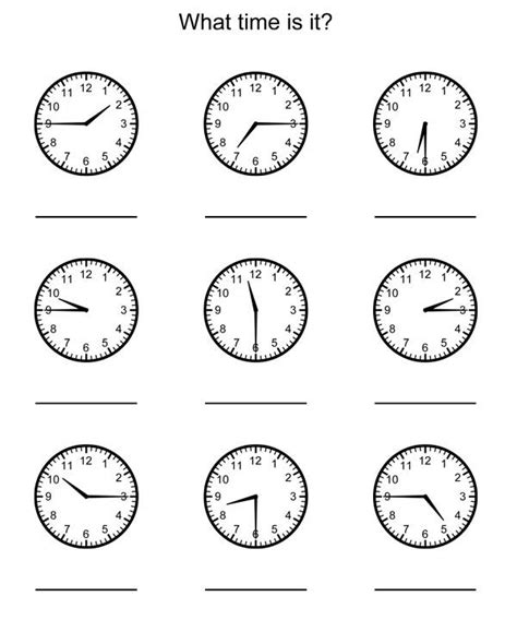 telling time worksheets nd grade math rd grade math