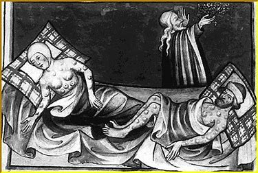 Image result for images the black death medieval