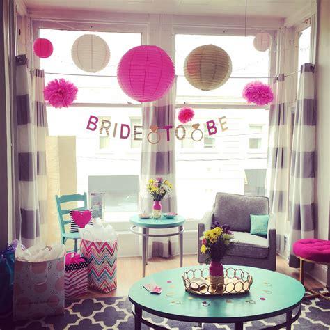bridal shower bachelorette party decorations at home