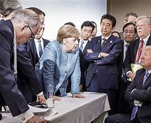 Image result for photo trump g-7 2019