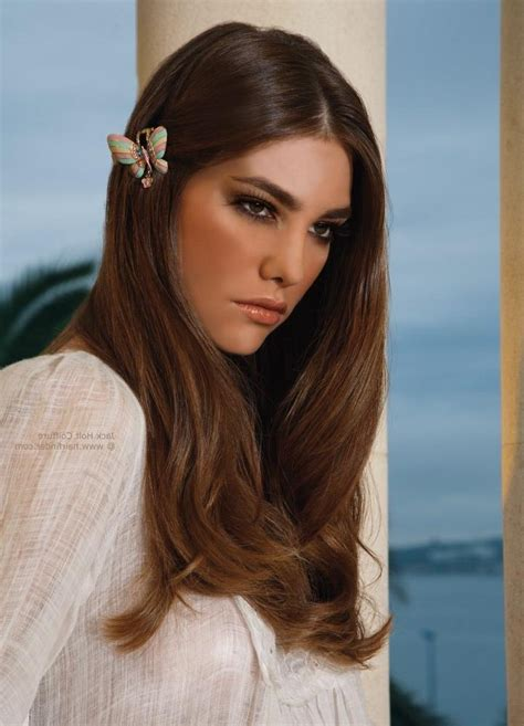 popular blunt cut long hairstyles