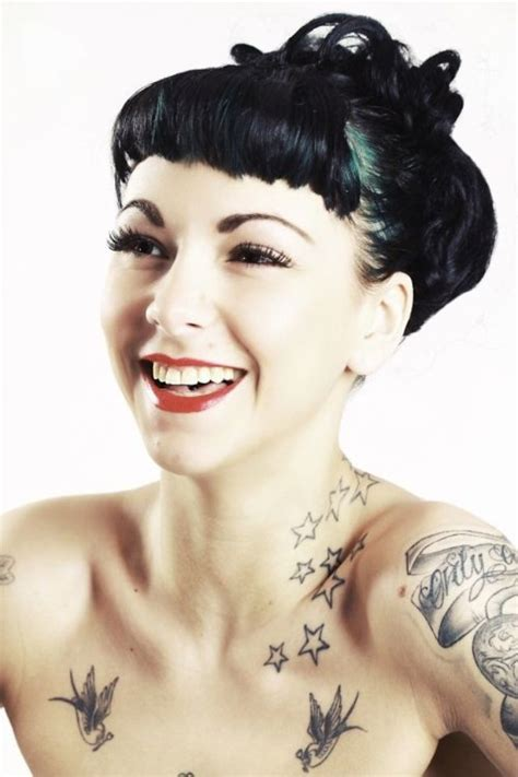 wild and impressive rockabilly hairstyles for women